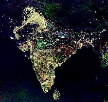 Diwali night India